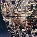 World Trade Center, Aerial Photograph by Everett