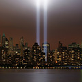 World Trade Center Tribute In Light by Greg Adams Photography