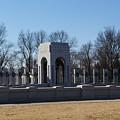 World War 2 Memorial by Veron Miller