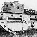 World War I British Tank. For Licensing Requests Visit Granger.com by Granger