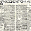 World War I: Declaration by Granger