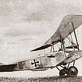 World War I: German Biplane by Granger