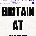World War I Headline, 1914 by Granger