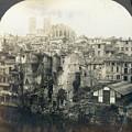 World War I: Verdun Ruins by Granger