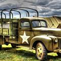 World War II Army Truck by Roy Branson