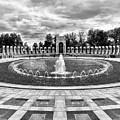 World War II Memorial Fountain by Mark Miller
