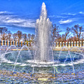 World War II Memorial by Paul Wear
