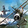 World War One Dogfight by Wilf Hardy