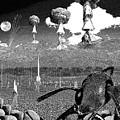 Book Illustation - World War Zero by Chas Hauxby