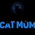 Worlds Best Cat Mom by Kaylin Watchorn