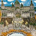 Worlds Fair Pavillon Facing Promenade Of Nations by Peter Chrisler