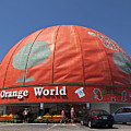 World's Largest Orange by Allan  Hughes