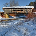 Worrall Covered Bridge by Steve Brown