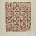 Woven Coverlet by James M. Lawson