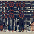 Woven Coverlet by Ralph Atkinson