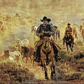A Dusty Wyoming Wrangle by Kay Brewer