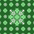 Wrapping Wallpaper Floral Seamless Tile For Website Vector, Repeating Foliage Outline Floral Western by Svetlana Corghencea