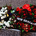 Wreaths From New Zealand And Our Navy by Miroslava Jurcik