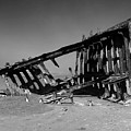 Wreck Of The Peter Iredale by Michelle Knauber