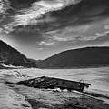 Wreck On The Lake by Djordje Jovanovic