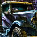 Wrecking Yard Fantasy by Lee Santa