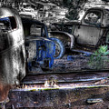 Wrecking Yard Study 12 by Lee Santa
