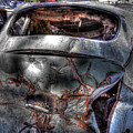 Wrecking Yard Study 2 by Lee Santa