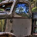 Wrecking Yard Study 4 by Lee Santa