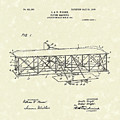 Wright  Brothers Flying Machine 1906 Patent Art by Prior Art Design