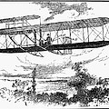 Wright Brothers Plane by Granger