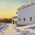 Wright-locke Farm And Squash House by Lynn Ricci
