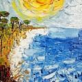 Writhing Sea by Denisa Olbojan