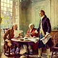 Writing Declaration Of Independence by Pg Reproductions