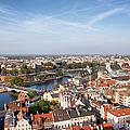Wroclaw Cityscape In Poland by Artur Bogacki