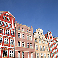 Wroclaw Old Town Houses by Artur Bogacki