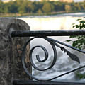 Wrought Iron At Niagara Falls by Living Color Photography Lorraine Lynch