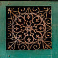 Wrought Iron Circle by Frances Ann Hattier