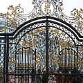 Wrought Iron Gate by Christiane Schulze Art And Photography