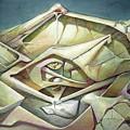 Ws1975ny002 Space Landscape 23 X 34.9 by Alfredo Da Silva