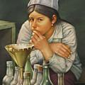 Ws1979bo014 Lusila La Paz 14x20 by Alfredo Da Silva