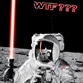 Wtf? Alan Bean Finds Lightsaber On The Moon by Weston Westmoreland