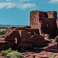 Wukoki Pueblo Ruins Wupatki National Monument by NaturesPix