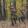 Wulff's Rangers At Schoenbrunn Village by Randy Steele