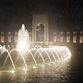 Ww 2 Memorial Fountain by Francesa Miller