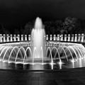 Ww2 Memorial Fountain by Cathie Crow