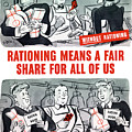 Ww2 Rationing Cartoon by War Is Hell Store