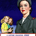Ww2 Us Cadet Nurse Corps by War Is Hell Store