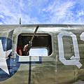 Wwii Aircraft Gun Window by Chuck Kuhn