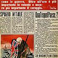 Wwii: Italian Newspaper by Granger