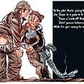 Wwii Joe Dope Cartoon by War Is Hell Store